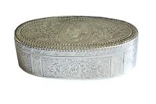 Georgian Sterling Silver Snuff Box London C 1771-1772