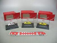 AI604-0,5# 3x Herpa Exclusiv H0 PKW: Ferrari Testarossa+Porsche 911, NEUW+OVP