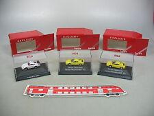 Ai604-0, 5# 3x Herpa Exclusiv h0 automóviles: Ferrari Testarossa + Porsche 911, Neuw + embalaje original