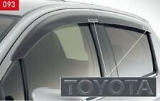 (NEW) JDM TOYOTA YARIS VITZ 130 Genuine option side visor OEM