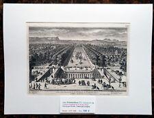 XVII ème - Fontainebleau Belle Gravure Vue des Cascades & Etang PL 130 - 1670