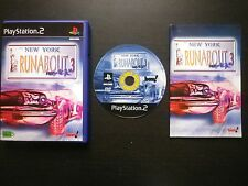 JEU Sony PLAYSTATION 2 PS2 : RUNABOUT 3 NEO AGE (courses COMPLET envoi suivi)