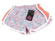 RBX Girls Active Running Shorts Hot Melon/Teal Piran Size Small (4) New