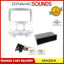 Car Stereo Single/Double Din Fascia Replacement Fitting Kit For Mazda 5 2005>
