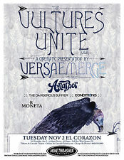 VERSAEMERGE 2010 Gig POSTER Seattle Washington Concert