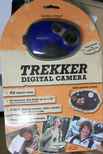 Global Point Trekker Digital Camera 3 MP 4x Zoom Camdorder Webcam NEW SEALED