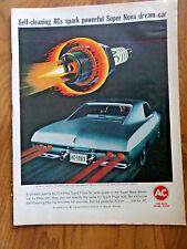1965 AC Spark Plugs Ad   Chevrolet  Chevy II Super Nova