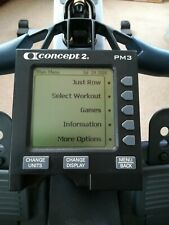 PM3 Concept2 Concept 2 Rower Rowing Machine Screen Monitor PM 3
