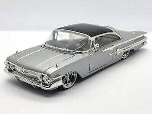 Jada Toys Dub Street Low Lowrider Series 1960 Chevy Impala 1:24 Diecast Display
