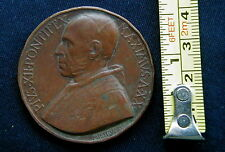 1858 Belgium rare medal Exposition BRUXELLES Catholic Church Pope PIO XII