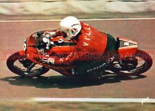 Walter VILLA HARLEY DAVIDSON 250 à ASSEN : Carte Postale Moto Postcard #426