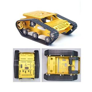 RC Tank Chassis DIY Parts Self-Assembling Needed Smart Tracked Robot Platform