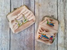 Vintage Leather Cigarette Case and Coin Purse from Ecuador