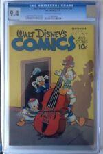 Dell Walt Disney's Comics and Stories #84 CGC 9.4