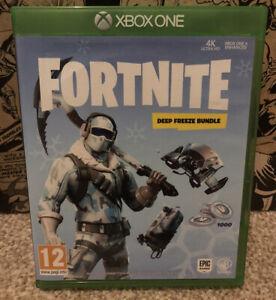 Xbox One - Fortnite Deep Freeze No DLC. VGC.