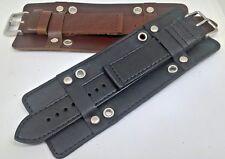 2 pezzi Bracciale Militare Cinturino In Pelle/Band 18 mm 20 mm