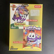 Raro Putt-putt va a la Luna/cumpleaños de PEP-Windows Mac Cd-rom Atari Juego