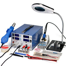 WEP-853D+ 3A DC POWER SUPPLY SMD REWORK STATION SOLDERING HOT AIR GUN WELDER