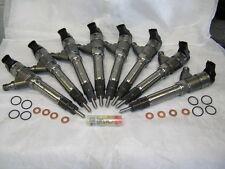 Remanufactured 2007-2010 CHEVY/GMC DURAMAX LMM 6.6L DIESEL INJECTOR SET