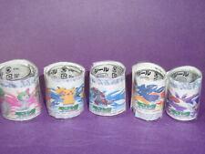 ot S4 Tomy Pokemon Figure Tattoo sticker set C (5 Pieces)
