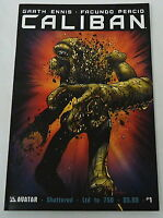 CALIBAN #1 comic ~ Shattered Variant, only 750 printed