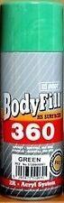 Apprêt vert 2K en bombe de peinture HB Body BODYFILL 360 HS SURFACER GREEN 2K