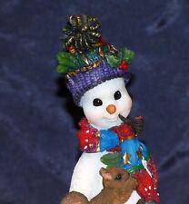 2000 Lenox Resin Pencil Snowman Winter Companion