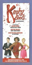 KINKY BOOTS starring DAVID COOK and KIRSTIN MALDONAD and Extra 2 rare COOK items