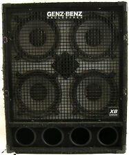 "Genz-Benz Enclosures GB 410T-XB 500-Watt 8-Ohm 4x10"" Bass Amp Extension Cabinet"