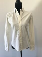 Rugby Ralph Lauren White Button Down University Oxford NWT 4 $65