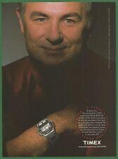 TIMEX IRONMAN TRIATHLON WATCH - Rodney Fox attacked by White Shark-1992 Print Ad