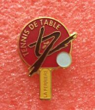 Pins SPORT TENNIS DE TABLE Ping Pong Club LA FERRIERE