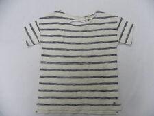 Roxy Women Adelaide Beige S/S Pullover Crew Sweatshirt Sz Medium