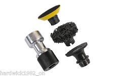 Cojinete de rueda / eje / Paneles / Tiras Disco Abrasivo herramienta Adaptador Set 1/2 Disco