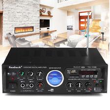 Bluetooth 500W Stereo Receiver Amplifier Audio Car Karaoke Home Hi-Fi Amp FM USB