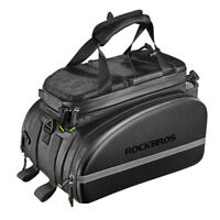 RockBros Cycling Bag Rear Carrier Bag Rack Pack Trunk Pannier Bicycle Bag