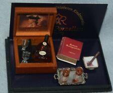 Reutter Gentleman's Cognac Set-Dollhouse Miniature