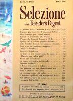SELEZIONE DAL READER'S DIGEST  Luglio 1968