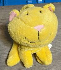 Cute Kitty Cat Plush Hand Glove Puppet, Yellow Kitten Pet Animal Toy