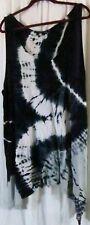 Urban X Dress XL Tie Dye Sleeveless Multi Color Knee Length
