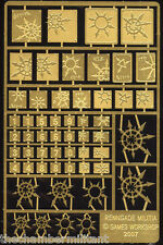 Warhammer 40k - Chaos Imperial Guard - Renegade Militia Etched Brass
