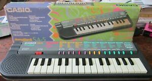 Vintage Casio SA-5 Songbank Mini Electronic Keyboard - TESTED & WORKING USED