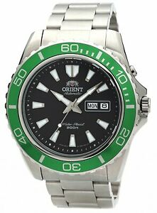 Orient FEM75003B Mako XL Automatic Black Dial Stainless Steel 200m Dive Watch