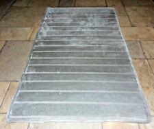 "Laura Ashley Memory Foam & 5% Charcoal Bath Mat, Light Gray, 21' x 34"""