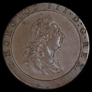 George III. Penny, 1797. Cartwheel Type.