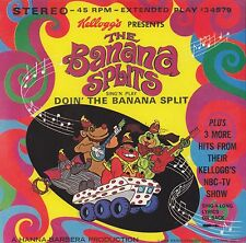"THE BANANA SPLITS DOIN' THE BANANA SPLIT PLUS 3 MORE HITS 45 RPM 7"" COLOR VINYL"