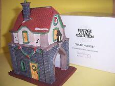 "Dept 56 ""Gate House"" Heritage Village Accessory"