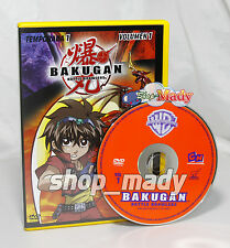 Bakugan Battle Brawlers Primera  y Segunda Temp en Español Latino R1 y 4 NTSC