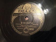 """BING CROSBY """"Marcheta""""/ """"Lullaby"""" 78rpm 10"""" 1942  Y5712  G+"""