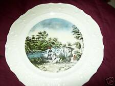 Very Nice Collectible Platet/ Hand Painted Plate Nice. Delano Studios